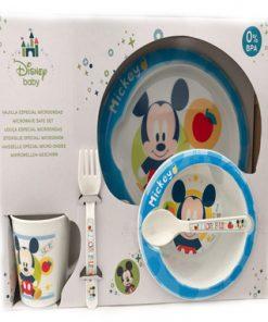 Conjunto de menaje de Mickey