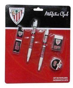 Boligrafo y gomas Athletic Bilbao