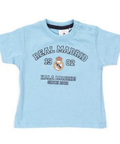 Camiseta manga corta bebe Real Madrid