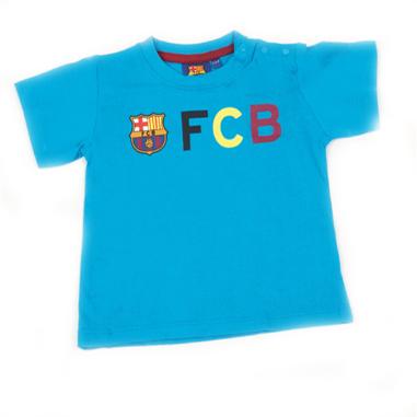 Camiseta infantil manga corta FC Barcelona