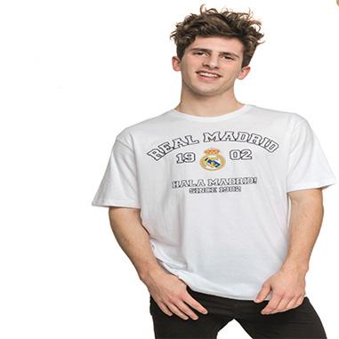 Camiseta manga corta Real Madrid