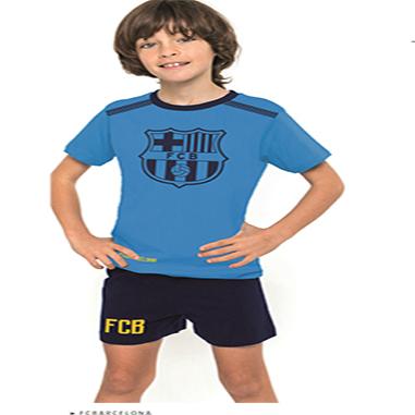 Pijama verano F c Barcelona. Pijama verano F c Barcelona. Pijama para niños  del F C Barcelona 6011c7bd5e1