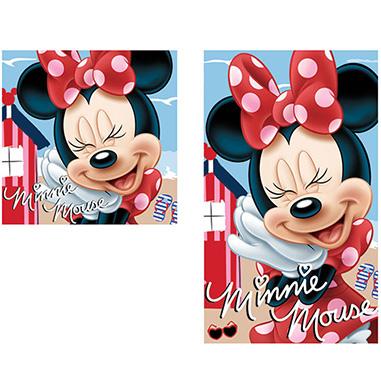 Conjunto toallas manos y cara Minnie
