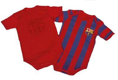 Pack Bodies para bebe Fc Barcelona