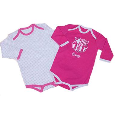 Pack body para bebes FC Barcelona