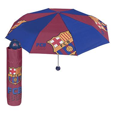 Paraguas antiviento adulto FC Barcelona