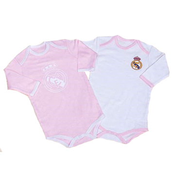 Body manga larga para niñas Real Madrid