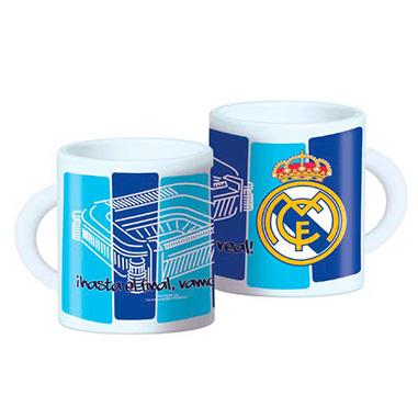Taza plastico Real Madrid