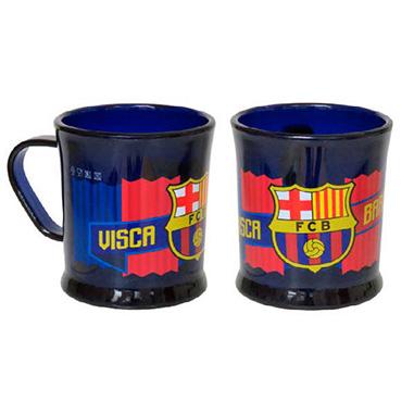 Taza plastico Barça