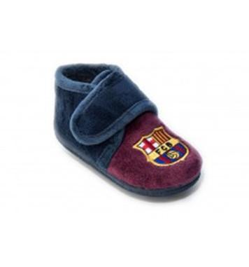 Zapatilla infantil invierno de casa FC Barcelona  56825aeaa8125