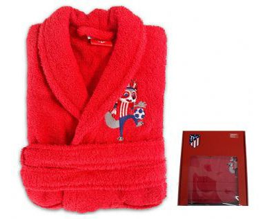 Albornoz baño juvenil Atletico Madrid 0f47879077b5d