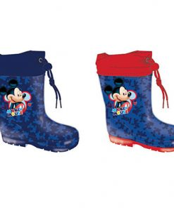 Botas agua para niños Mickey Disney