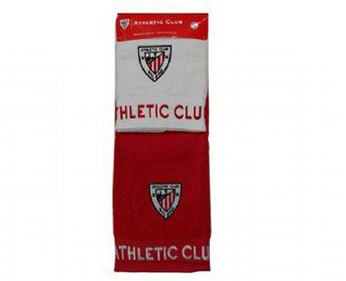 1557aa1df89ad Toallas baño Athletic Club. Conjunto toallas para baño del Athletic club  Bilbao