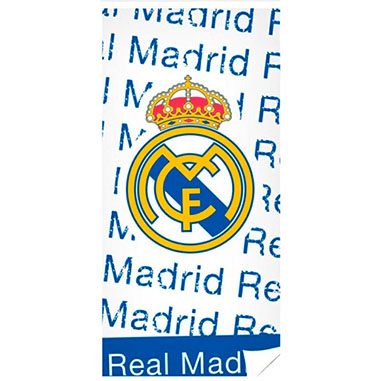 Toalla algodon Real Madrid