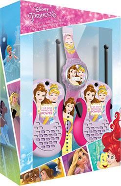 Reloj y walkie Princesas