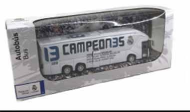 Replica autobus Real Madrid