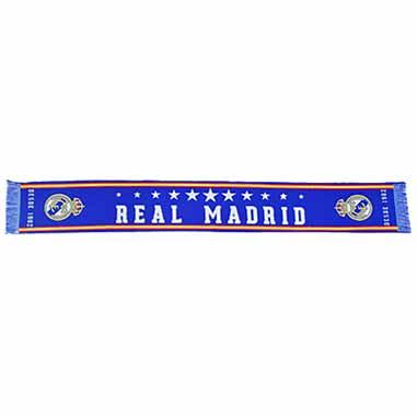 Bufanda Madridista azul