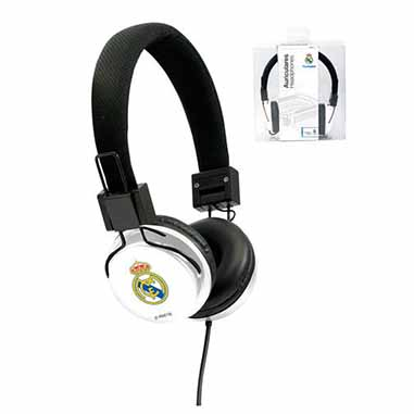 Auriculares cascos Real Madrid