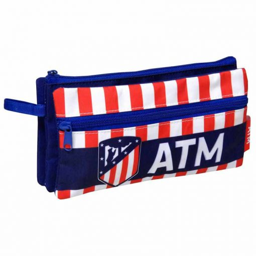 Estuche escolar Atletico Madrid
