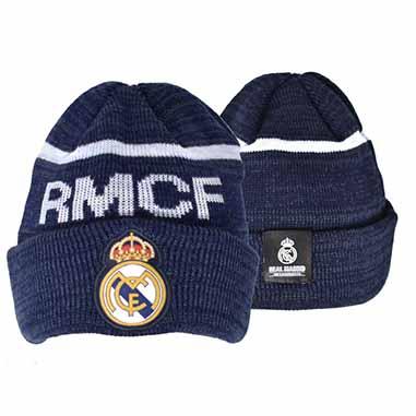 Gorro punto Real Madrid