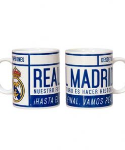 Jarra ceramica Real Madrid