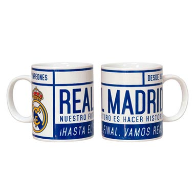 Jarra ceramica Real Madrid