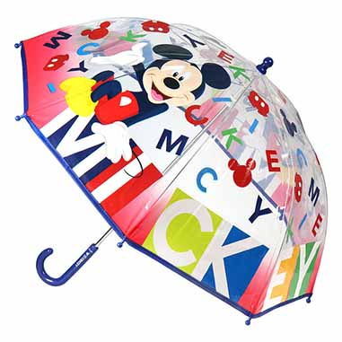 Paraguas manual Mickey Disney