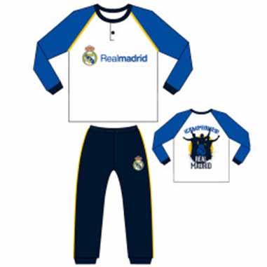 Pijama invierno campeones Real Madrid