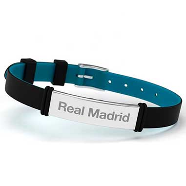 Pulsera acero Real Madrid