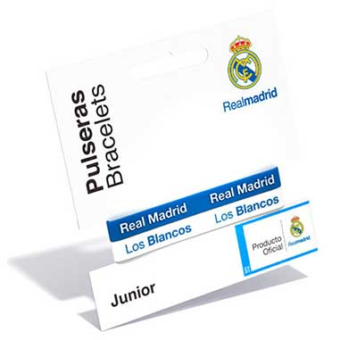 Pulsera silicona Real Madrid