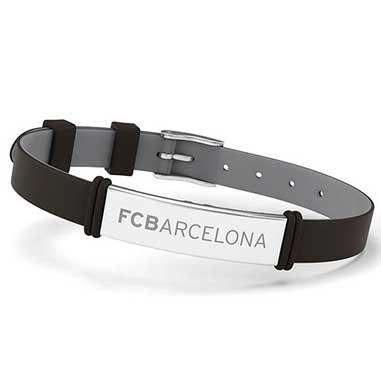 Pulsera acero Barça