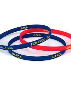 Conjunto pulseras Fc Barcelona