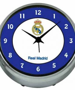 Reloj despertador metalico Real Madrid