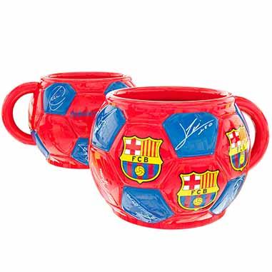 Taza balon FC Barcelona