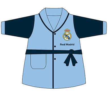 Bata celeste infantil Real Madrid