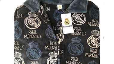 Bata infantil polar Real Madrid
