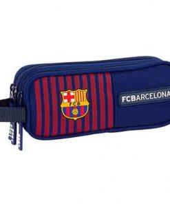 Estuche escolar triple Barça