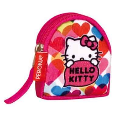 Monedero infantil rosa Hello Kitty