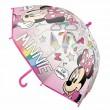 Paraguas manual burbuja Minnie Disney