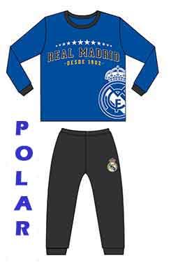 Pijama polar invierno Real Madrid