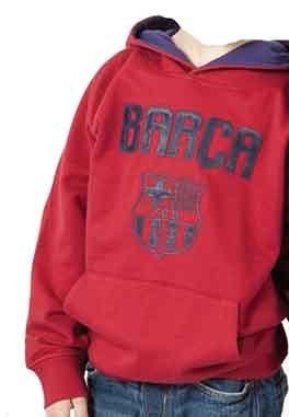 Sudadera roja con escodo Fc Barcelona c9c74326f40