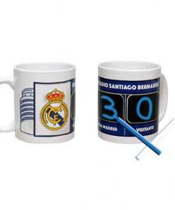 Taza Real Madrid con marcador