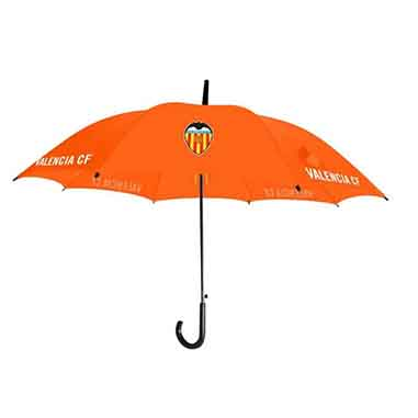 Paraguas naranja Valencia CF