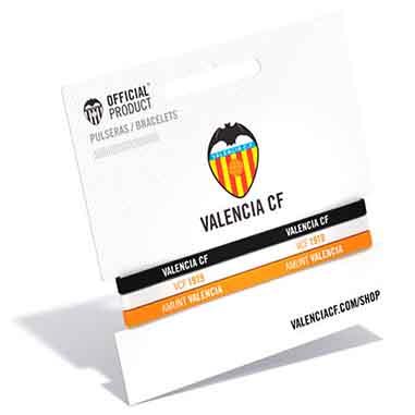 Pulsera junior Valencia CF