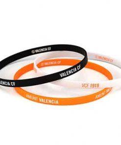 Pulsera tricolor Valencia CF