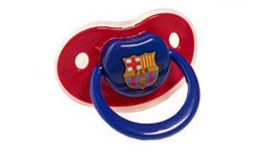 Chupete latex Fc Barcelona