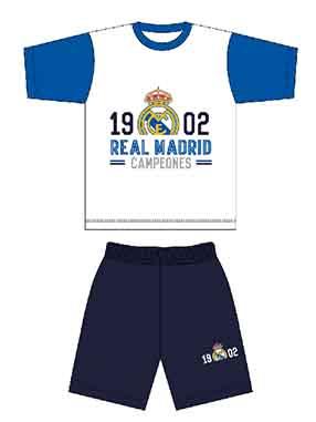 Pijama verano Real Madrid