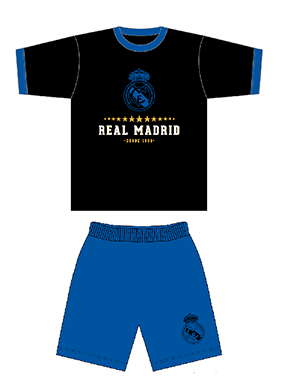 Pijama manga corta Real Madrid