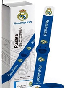 Pulsera antimosquito Real Madrid