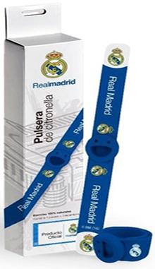 Pulsera antimosquito Real Madrid